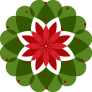 New Heartfulness Logo no text no background holiday wreath edition 2