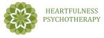 Transparent side heartfulness logo no background